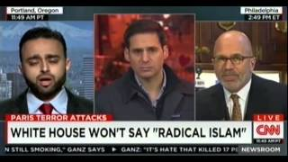 "CNN: Harris Zafar Ahmadiyya rep ""WhiteHouse won't say Radical Islam"""