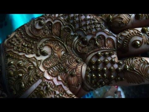 Indian Pakistani Hina Mehendi-New Easy Mehndi Tattoo Design For Fest 2013