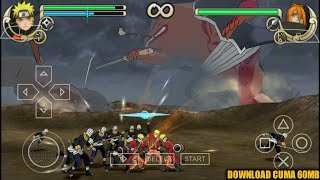 Cara Download Game Naruto Shippuden Ultimate Ninja Impact (Lite) PPSSPP Android