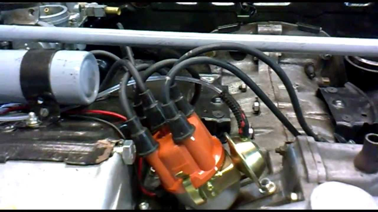 distributor wiring diagram 3 phase lighting tuning twin solex 32 pdsit carburettors on a vw aircooled - youtube