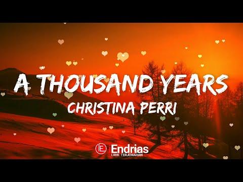A Thousand Years - Christina Perri (Lirik Terjemahan) Indonesia By iEndrias