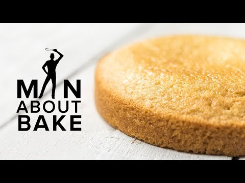 JJR's Vanilla Cake Recipe   Man About BAKE