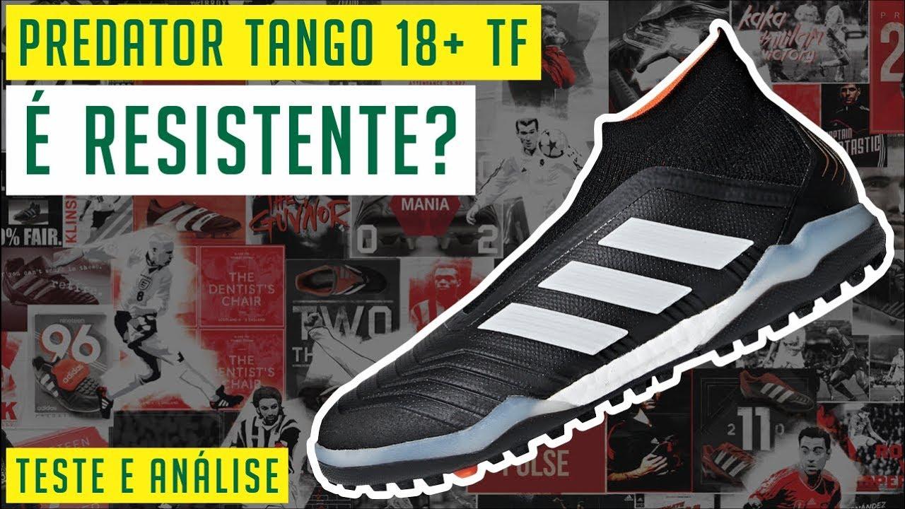 0823f4e3e CHUTEIRA ADIDAS PREDATOR TANGO 18+ TF - TESTE E ANÁLISE / REVIEW ...