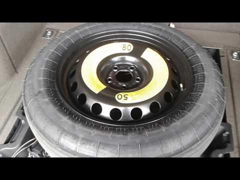 Audi spare tire deflate