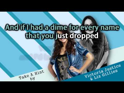 Victoria Justice & Elizabeth Gillies - Take A Hint Instrumental + Free mp3 download!