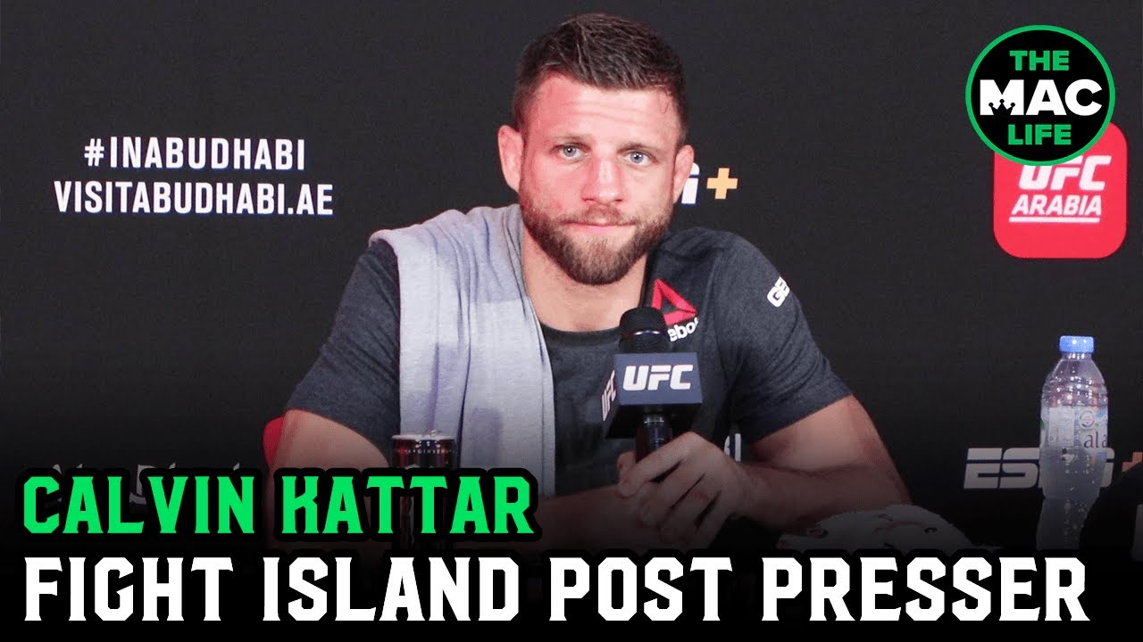 Calvin Kattar reacts to five round brawl with Dan Ige | UFC Fight Island 1 Post-Fight Presser