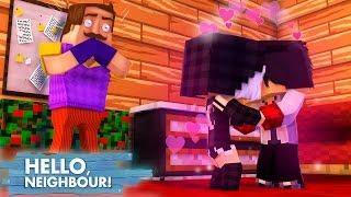 Minecraft HELLO NEIGHBOR - O VIZINHO PEGOU A MIA E O WIIZINHO SE BEIJANDO!!   EP 25 [ WIIFEROIZ ]