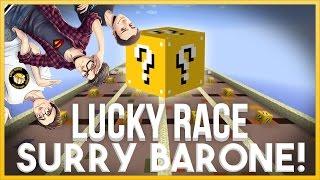 MINECRAFT: LUCKY BLOCK RACE - SURRY CERCA DI BARARE!! w/Vegas