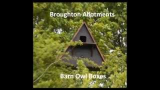 Rspb Design Barn Owl Nest Boxes Constructed & Installed