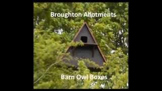 Rspb Design Barn Owl Nest Boxes Constructed & Installed