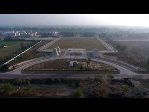 IIT Ropar Permanent Campus Campus Tour | Indian Institute of Technology Ropar Real Aerial View