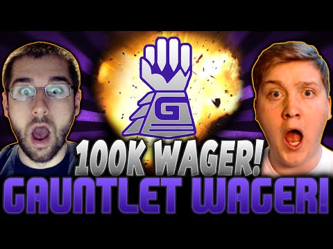 New 100k Gauntlet Wager Vs Thecrayonsmelt