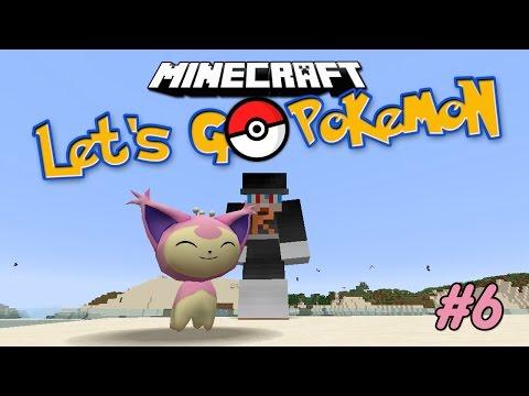 Minecraft Let's Go Pokemon #6 - โปเกม่อนชาเลนจ์สุ่มได้ธาตุไหนจับธาตุนั้น