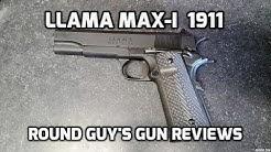 Llama Max-I  1911 .45acp Review