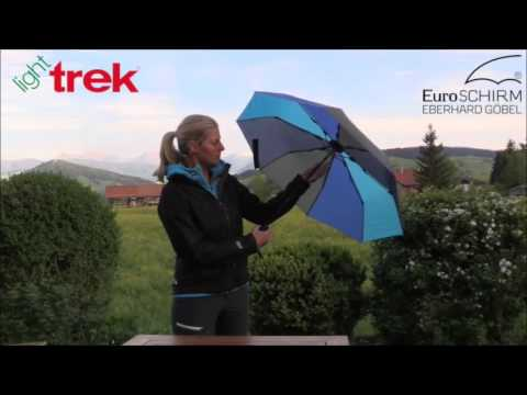 Euroschirm Light Trek Umbrella Cool EuroSCHIRM Light Trek Umbrella Campmor YouTube
