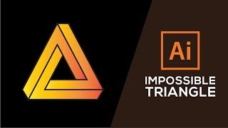 How to Design The Impossible Triangle in Adobe illustrator CC 2015-2017