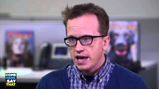 Comedian Chris Gethard recalls the glorious tale of how he quit his day job