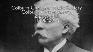 Gabriel Fauré, Piano Quartet #2 in g minor, Op. 45