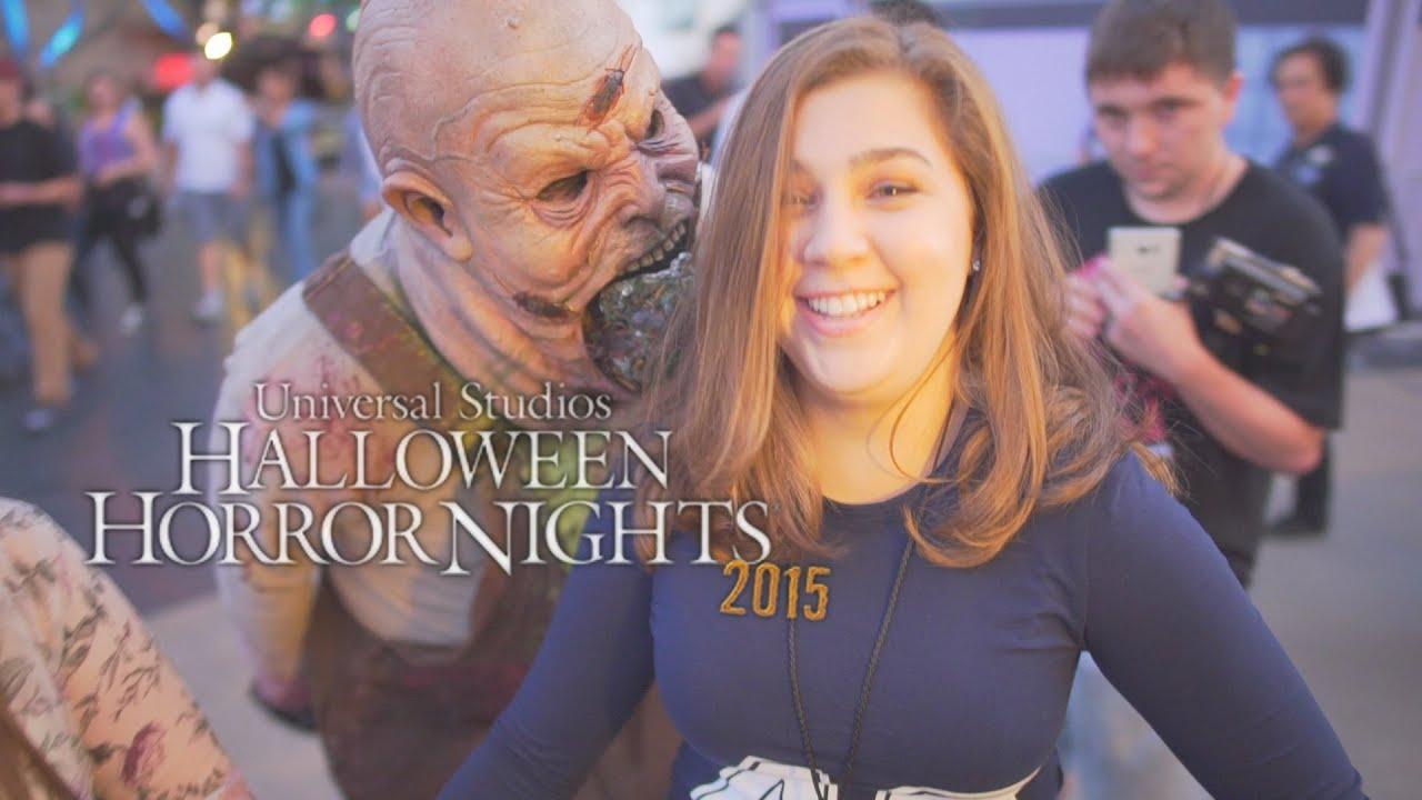 Universal Studios Los Angeles Halloween | Halloween Horror Nights 2015 At Universal Studios Hollywood Youtube