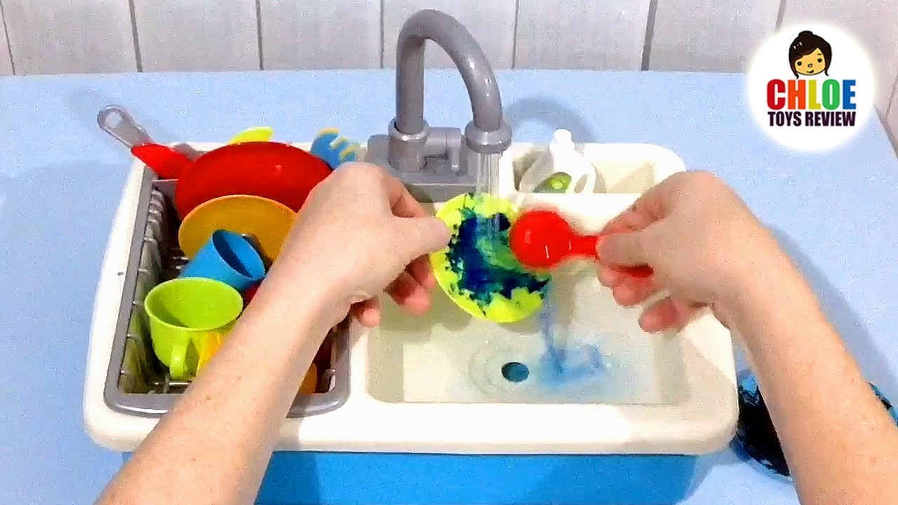 Spark kitchen sink toy full video review product demonstration