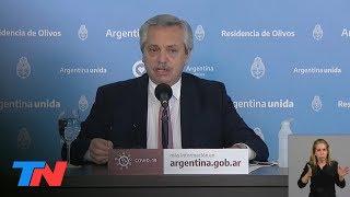 Cuarentena | Alberto Fernández anunció la extensión hasta el 28 de junio.