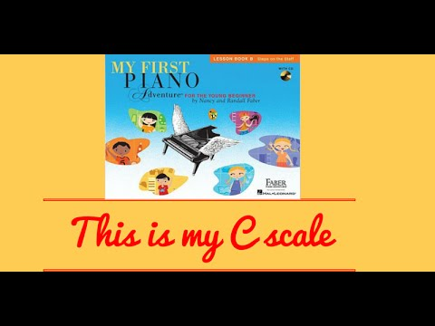 Piano Online:This is my C scale - My First Piano Adventures Book 2