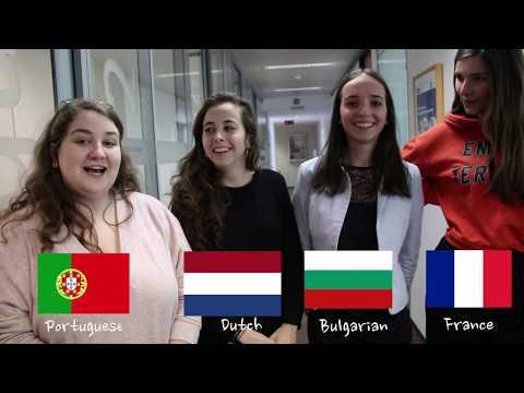 Vesalius College Holiday Greetings - December 2017