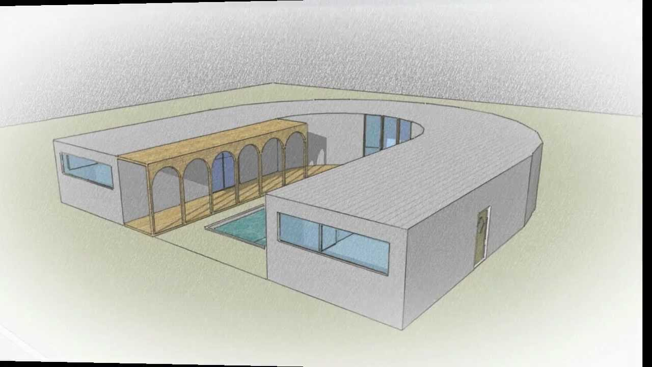 Dessin de maisons original by swaghouse youtube for Architecture originale maison