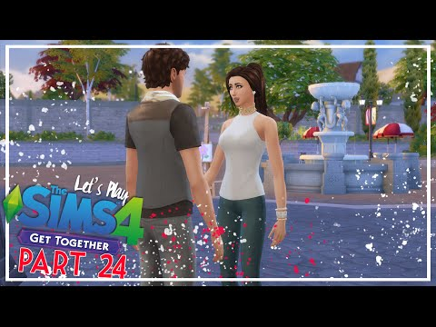 Let's Play The Sims 4: Get Together - (Part 24) - Date Night