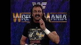 Jake Roberts Promo on Andre the Giant (03-04-1989)