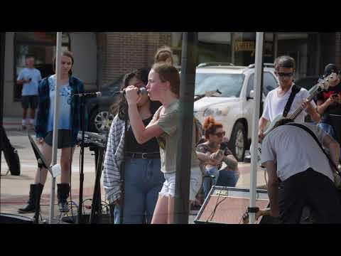 2019 Huntington Indiana Chalk Walk Festival