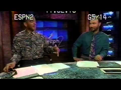 ESPN2 - '94 - Stuart Scott & Tony Bruno The Mechanics Part 1