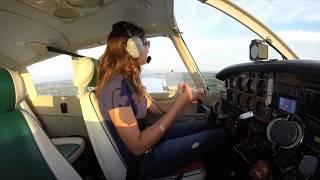 Maddie's First Solo Flight!
