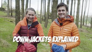 Down Jackets Explained | Rab Gear Guide