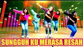Download lagu SUNGGUH KU MERASA RESAH - DJ REMIX - SENAM KREASI