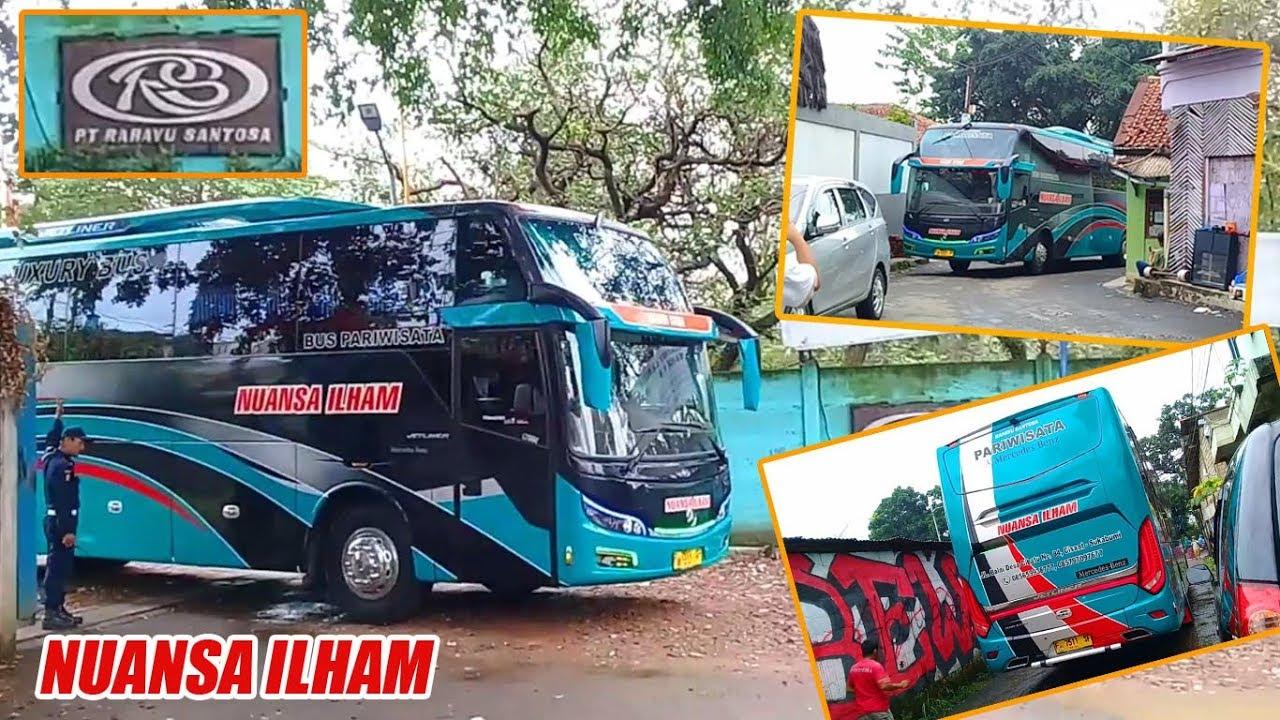 Bus Nuansa Ilham Keluar Dari Karoseri Rahayu Sentosa (Nuansa Ilham Jetliner)