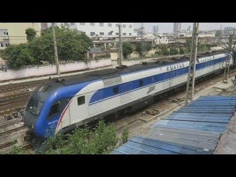 DF11G+RZ25T & HXD3C+25G 並行, China Railway中国铁路