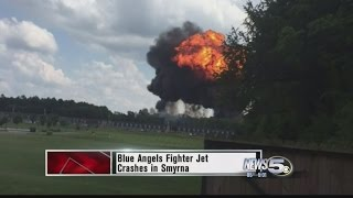 Blue Angel Goes Down In Fiery Crash, One Confirmed Dead