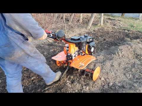 Motosapa Ruris Dac 7009K -prima proba la frezat