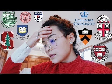 COLLEGE DECISIONS IN UNDER 2 MINUTES // 8 IVIES + STANFORD 2018