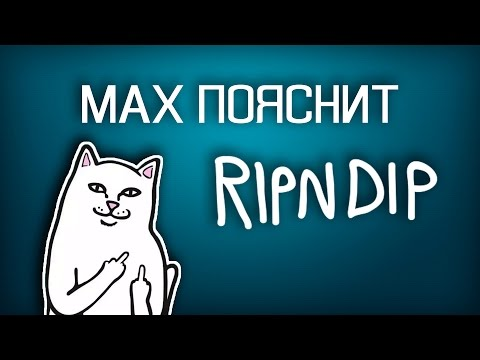 MAX ПОЯСНИТ | RIPNDIP