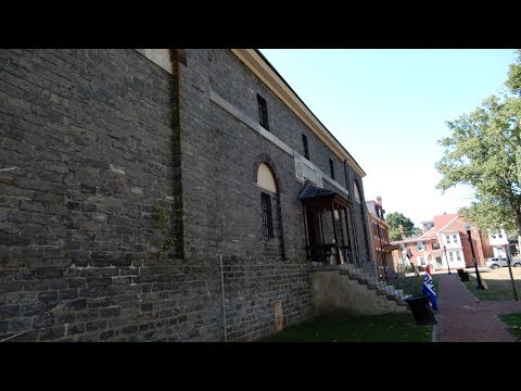Burlington Prison and a Stroll Through Mount Holly NJ