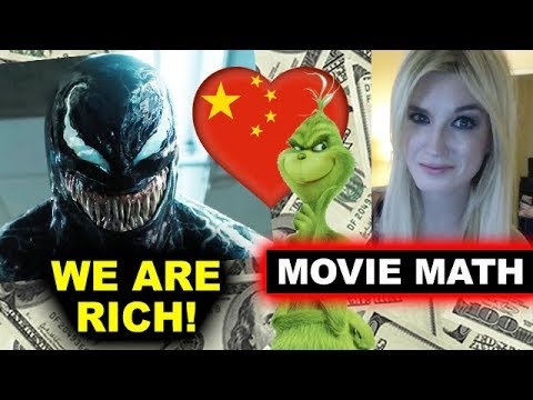 Box Office for Venom China Opening Weekend, The Grinch 2018 Mp3