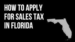 How to Apply for Sales Tax and Unemployment Tax in Florida