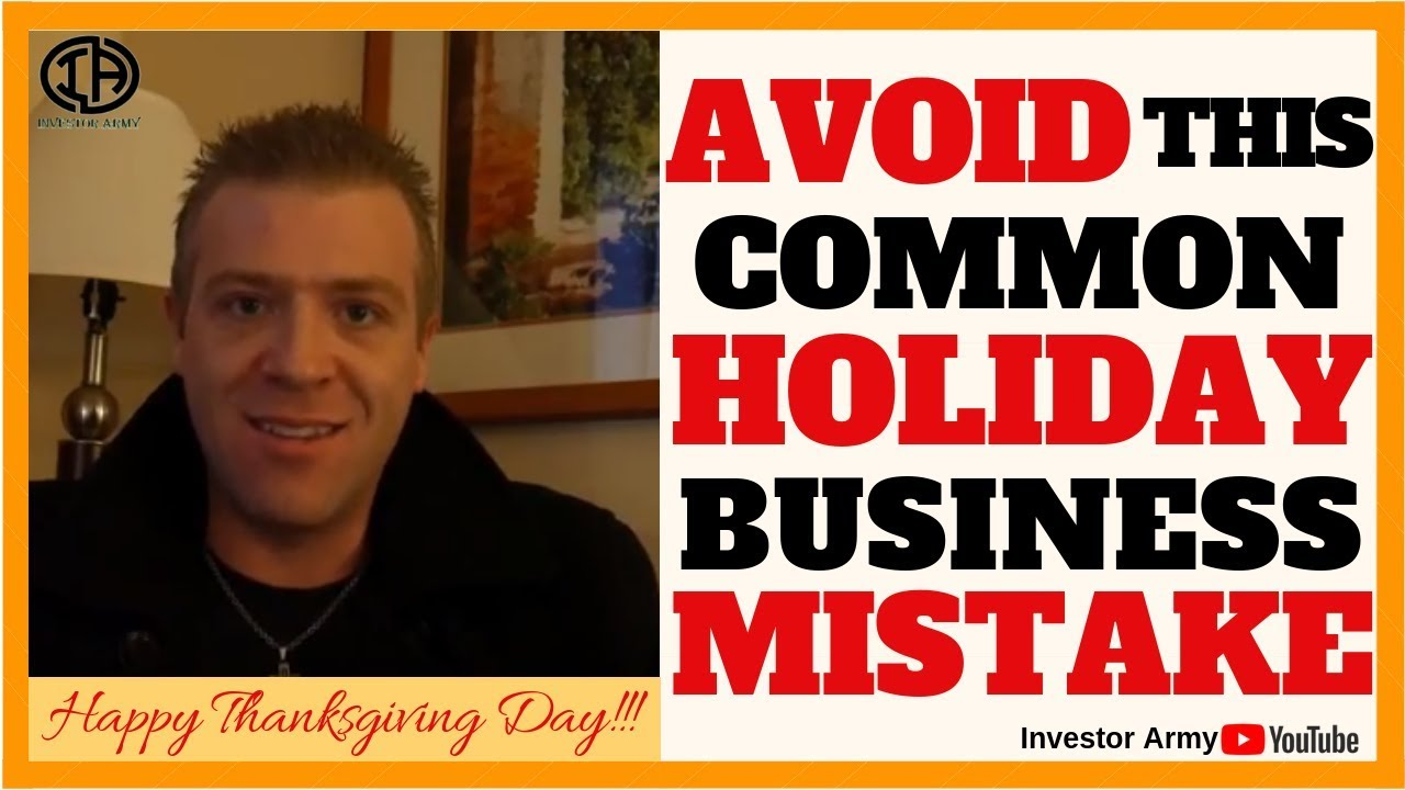 Avoid This Common Holiday Business Mistake
