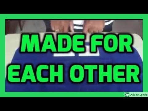 ONLINE MAGIC TRICKS TAMIL I ONLINE TAMIL MAGIC #412 I MADE FOR EACH OTHER