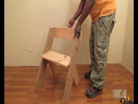 How To Build A   Modern Chair