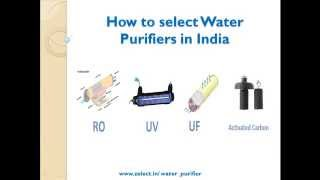 Water Purifier buying guide in india(Try the smart selection tool at ..., 2015-06-19T14:23:36.000Z)