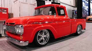 1960 Ford F1 Street Truck Legens Hot Rods The SEMA Show 2016