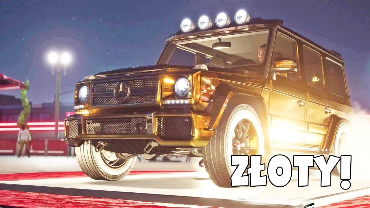 NEED FOR SPEED PAYBACK – ZŁOTY G63!